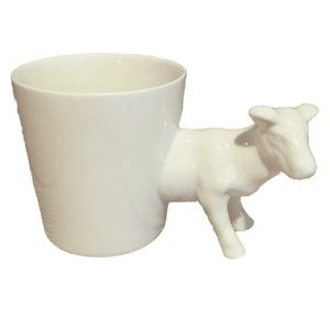 Other - Cow Mug Cup Planter Ceramic